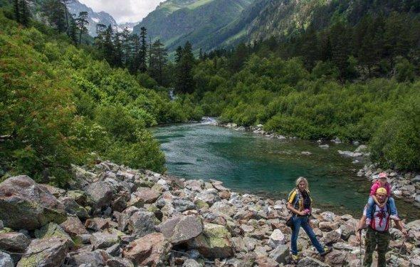 фото Активный отдых на Кавказе