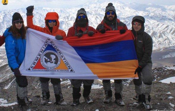 Армянские горы всегда зовут: