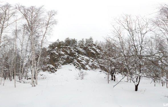 гора Балабан зимний поход