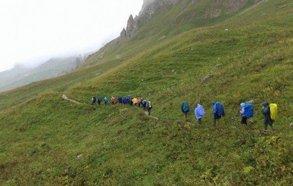 Горные походы по Кавказу