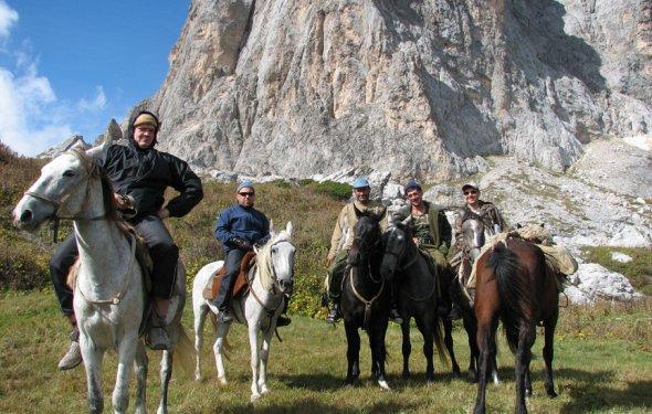 конный поход на гору Фишт