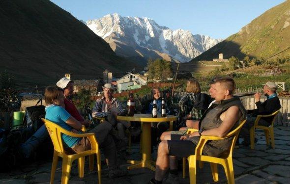 и гор – Сванетия, сентябрь