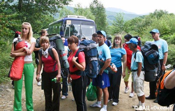 Поход на гору Пидан