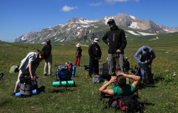 Походы в горы Кавказа фото от