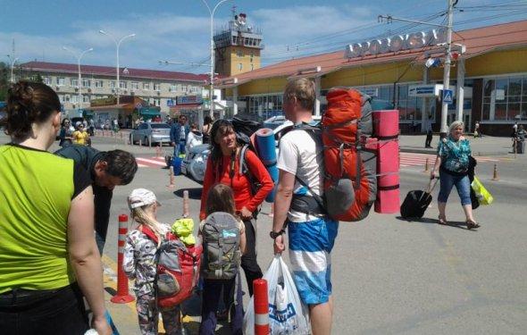 Внимание туристы, газовые
