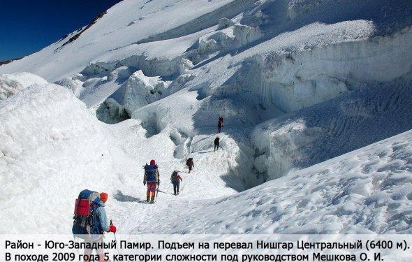 Секция горного туризма