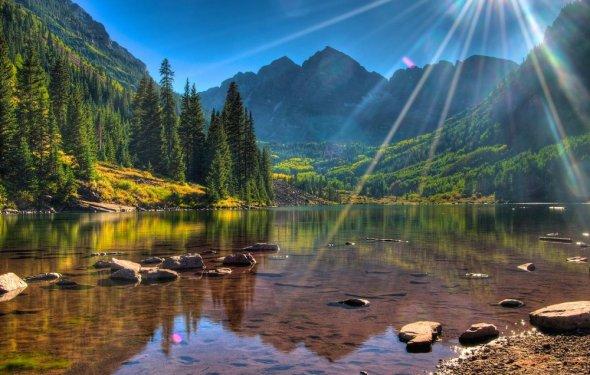 Альпийские луга-озеро Мзы