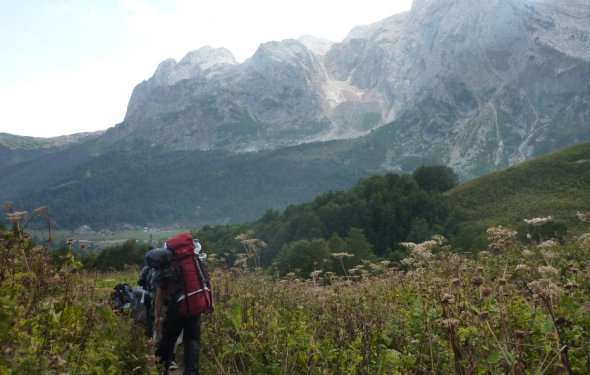 В поход в горы фото от