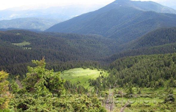 пеший поход в горы
